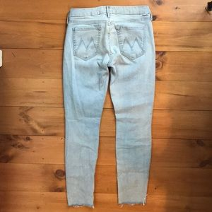 Mother denim Candice the ankle fray. Size 28